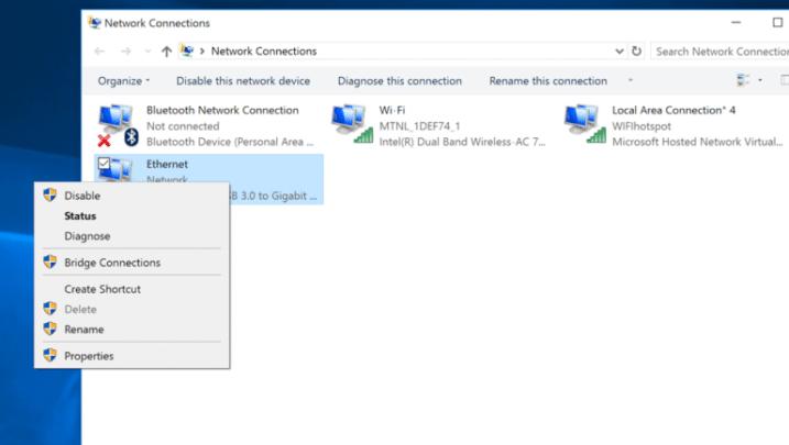 كيفية تحويل حاسوبك الى نقطة اتصال حارة Wifi Hotspot على ويندوز 10