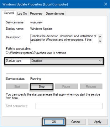 طريقة ايقاف التحديثات التلقائية ل ويندوز Windows 10 4