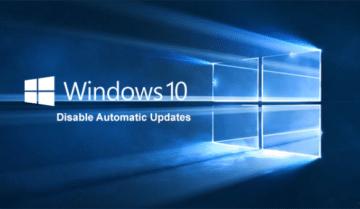 طريقة ايقاف التحديثات التلقائية ل ويندوز Windows 10