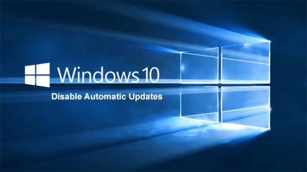 طريقة ايقاف التحديثات التلقائية ل ويندوز Windows 10 1
