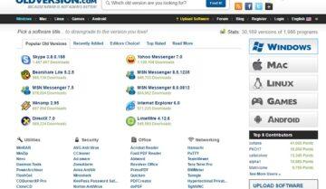 5 مواقع لتحميل برامجك بإصدارات قديمة بشكل مجانى