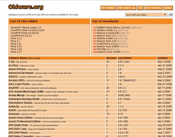 5 مواقع لتحميل برامجك بإصدارات قديمة بشكل مجانى 3