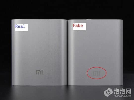 كيف تتأكد من أن خزان الطاقة من نوع Xiaomi أصلي؟