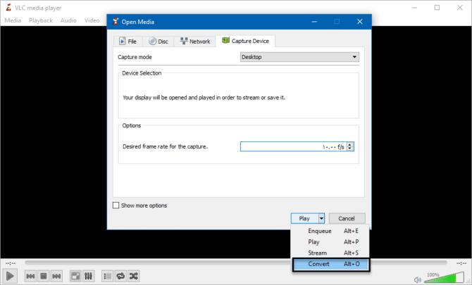 كيفية تصوير الشاشة فيديو بإستخدام برنامج VLC فى ويندوز 4