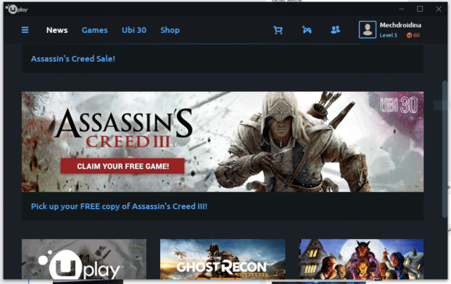 تحميل لعبة Assassin's Creed III متاحة الآن مجاناً بشكل رسمي 4