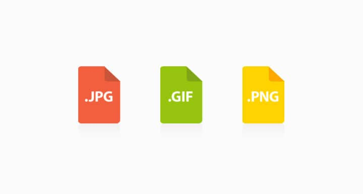 فرق بين صيغ الصور PNG و GIF و JPEG 1