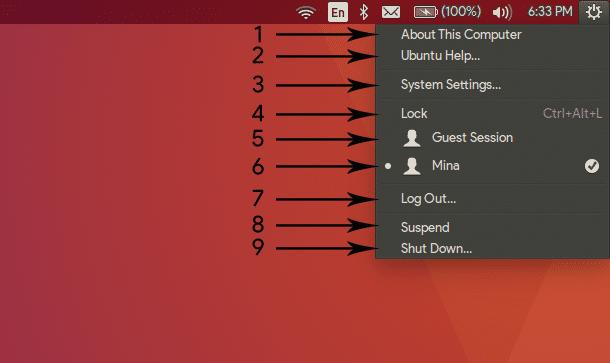 [ سلسلة أوبنتو ] التعرف على واجهة أوبنتو Ubuntu 4