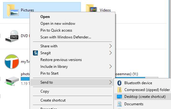 طريقة تغير المجلد الإفتراضى فى مستكشف الملفات فى ويندوز 10 Windows 4