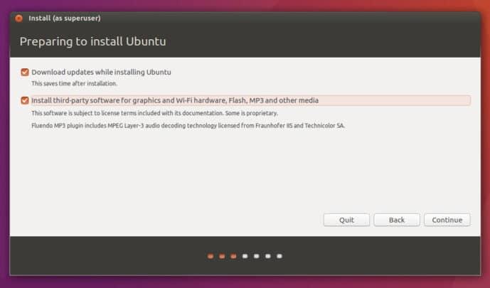[ سلسلة أوبنتو ] كيفية تثبيت توزيعة أوبنتو ubuntu 3