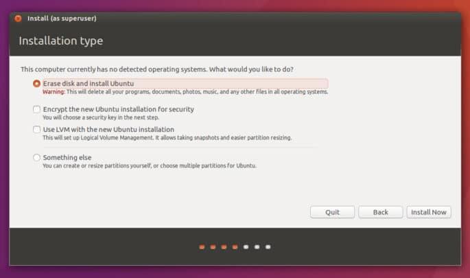 [ سلسلة أوبنتو ] كيفية تثبيت توزيعة أوبنتو ubuntu 4