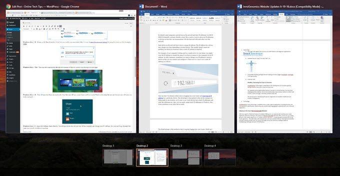 أهم 7 اختصارات فى لوحة المفاتيح ل ويندوز 10 windows 6