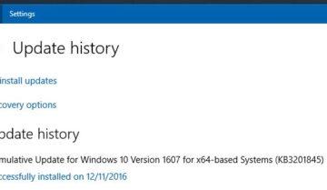 حل مشكلة 100% Disk Usage بعد تحديث ويندوز KB3201845