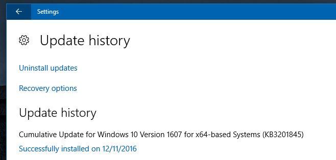حل مشكلة 100% Disk Usage بعد تحديث Windows KB3201845