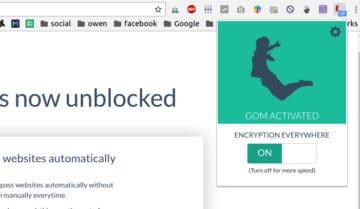 اضافة Gom VPN لتصفح المواقع المحجوبة ل كروم