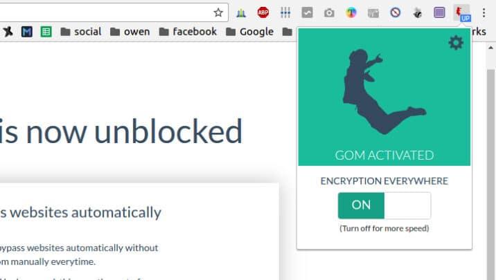 اضافة Gom VPN لتصفح المواقع المحجوبة ل كروم 1