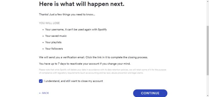 """طريقة حذف حساب سبوتيفاي """" Spotify """" الخاص بك 7"""