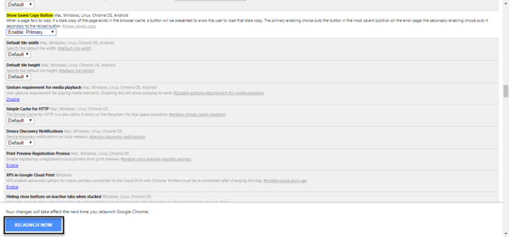 طريقة حفظ صفحات الويب عل جوجل كروم لتصفحها لاحقاً بدون انترنت 3