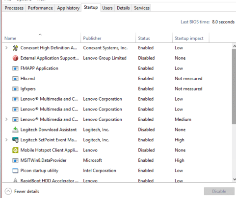 7 طرق لحل مشكلة استهلاك 100% Disk Usage من مساحة القرص الصلب على ويندوز 10 6