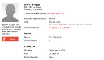 كيف تحصل على عنوان و رقم امريكي وهمي