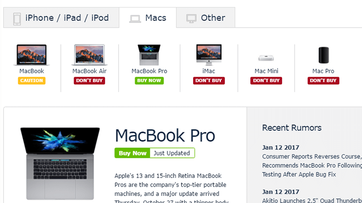 كيف تختار حاسوب MacBook المناسب لك 2