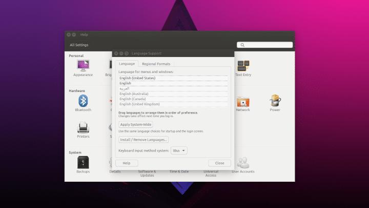[ سلسلة أوبنتو ] تعرف على واجهة الأعدادات Settings في توزيعة أوبنتو Ubuntu 5