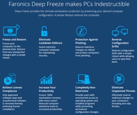 برنامج Deep Freeze ﻷستعادة حالة جهازك بعد اعادة التشغيل 2
