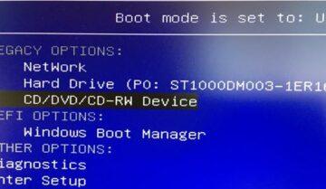 الدخول على BIOS وتغيير ترتيب أقلاع أي اصدار ويندوز