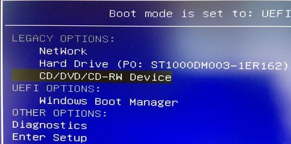 الدخول على BIOS وتغيير ترتيب أقلاع أي اصدار ويندوز 9