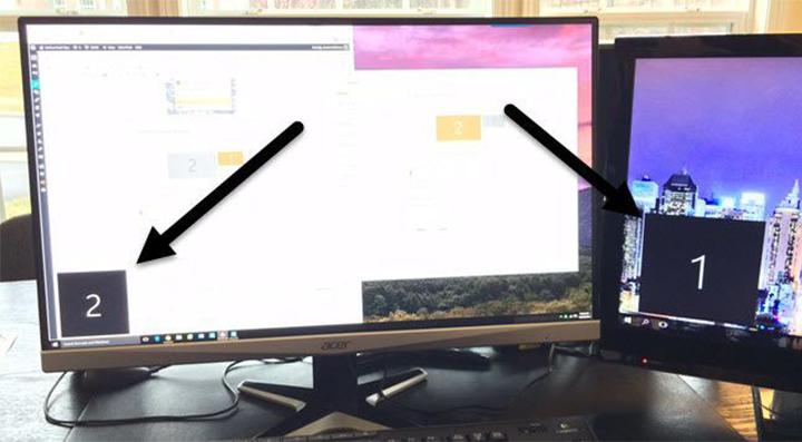 كيفية توصيل شاشتين على حاسوب واحد في ويندوز 3