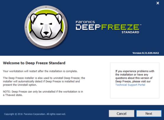 برنامج Deep Freeze ﻷستعادة حالة جهازك بعد اعادة التشغيل 3