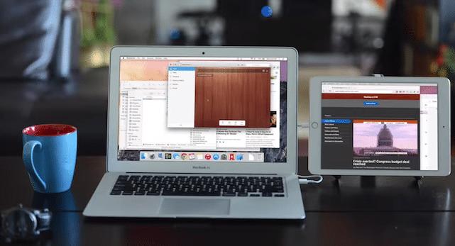 كيف تشغيل جهاز iPad الخاص بك كشاشة ثانية لجهازك 1
