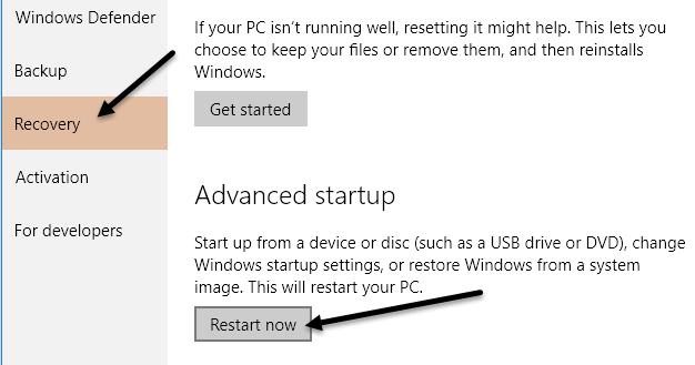الدخول على BIOS وتغيير ترتيب أقلاع أي اصدار ويندوز 4