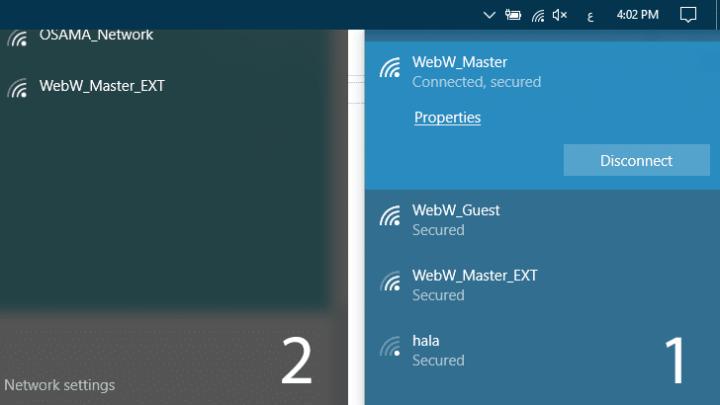 طريقة ايقاف تنزيل تحديثات ويندوز 10 علي شبكة واي فاي معينة بدون برامج 1