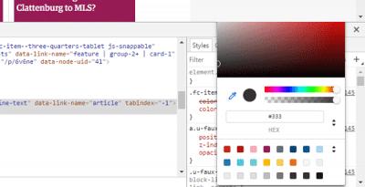 نصائح لإستخدام أفضل لأداة فحص العنصر في متصفح جوجل كروم