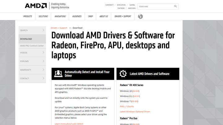 طريقتين لتثبيت تعريف كارت شاشة AMD على ويندوز 10 5