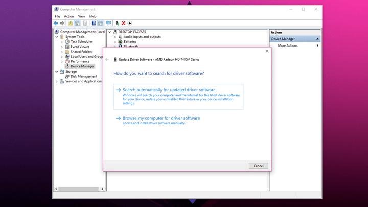 طريقتين لتثبيت تعريف كارت شاشة AMD على ويندوز 10 4