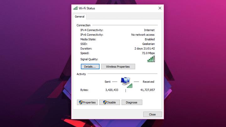 كيف تعرف عنوان MAC الخاص بجهازك علي ويندوز 10 5