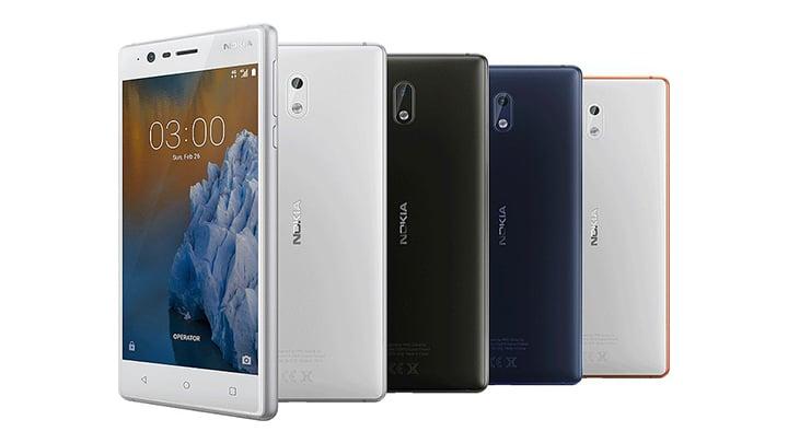 استعراض هواتف نوكيا الجديدة NOKIA 5 و NOKIA 3 و NOKIA 3310 مع السعر والمميزات 3