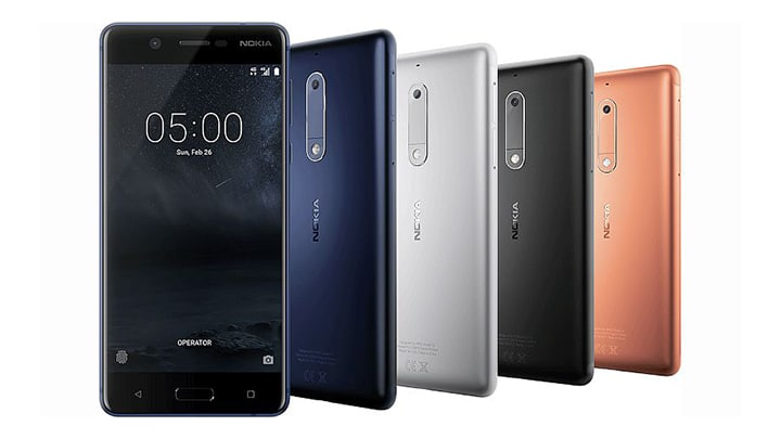 استعراض هواتف نوكيا الجديدة NOKIA 5 و NOKIA 3 و NOKIA 3310 مع السعر والمميزات 2