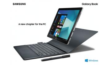 استعراض مميزات و مواصفات Tab S3 و Galaxy Book الجديد من سامسونج بنظام ويندوز