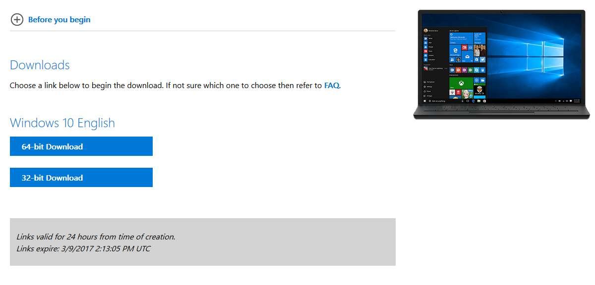 طريقة تحميل النسخة الرسمية بصيغة ISO لنظام التشغيل ويندوز 10 من مايكروسوفت 2