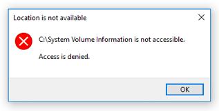 كل ماتريد معرفتة عن ملف System Volume Information 1