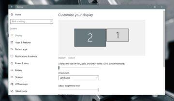 طريقة ضبط وضوح الصورة لعدة شاشات متصلة بجهازك لنظام ويندوز 10