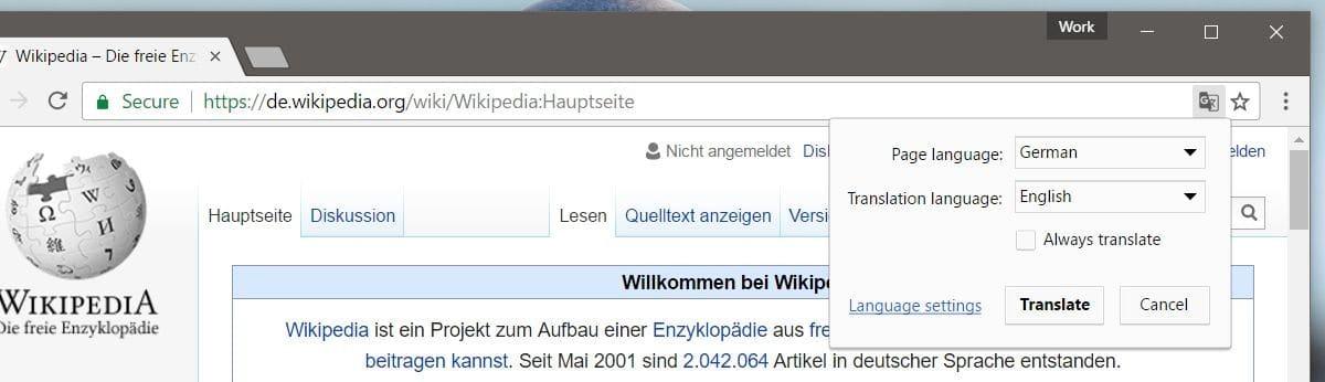 كيفية تغيير لغة الترجمة للمواقع في متصفح جوجل كروم 2