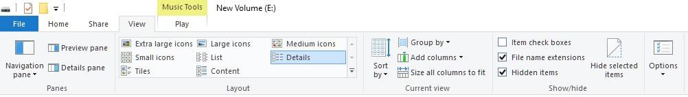 طريقة إخفاء و إظهار المجلدات و الملفات فى جميع أنظمة الويندوز 3