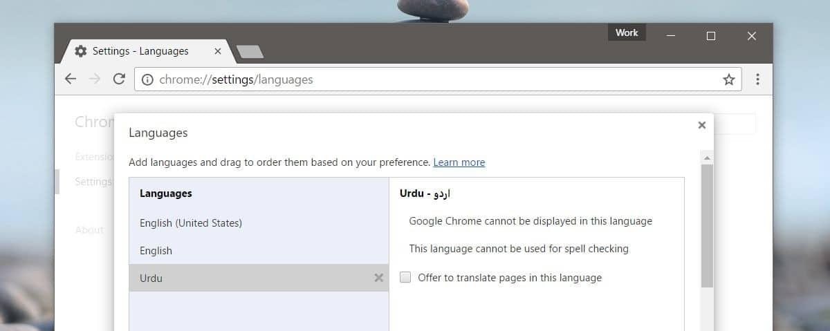 كيفية تغيير لغة الترجمة للمواقع في متصفح جوجل كروم 3