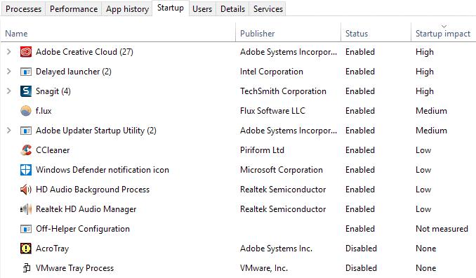 إصلاح مشكلة إستخدام 100٪ من القرص في نظام التشغيل Windows 10 4
