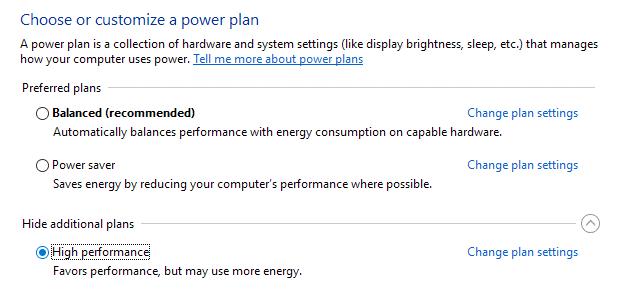 إصلاح مشكلة إستخدام 100٪ من القرص في نظام التشغيل Windows 10 6