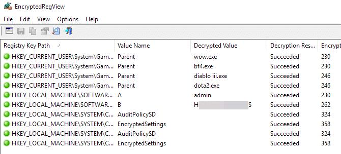 كيفية إيجاد كلمات المرور المخزنة و المخفية على جميع أنظمة ويندوز 6