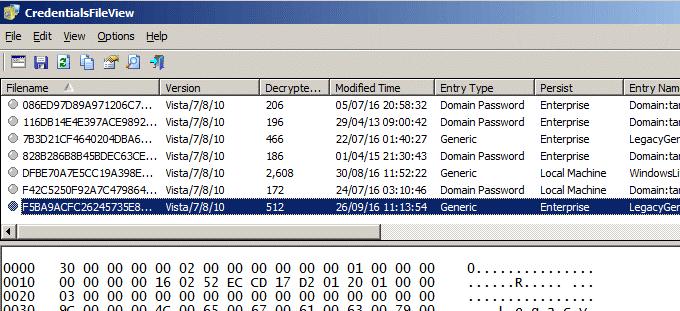 كيفية إيجاد كلمات المرور المخزنة و المخفية على جميع أنظمة ويندوز 9